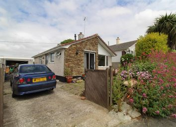 Thumbnail 2 bed detached bungalow for sale in Treza Road, Porthleven, Helston