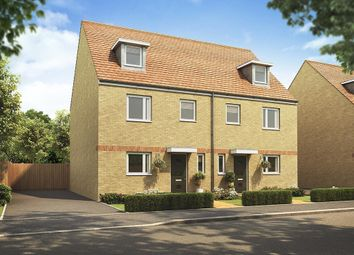 "Thumbnail 4 bed semi-detached house for sale in ""The Leicester "" at Villa Road, Stanway, Colchester"