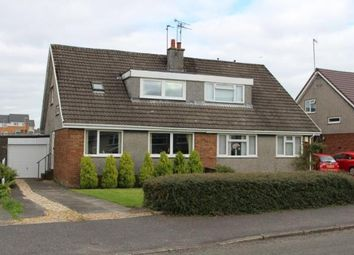 Thumbnail 3 bed semi-detached house for sale in Penzance Way, Moodiesburn, Glasgow, North Lanarkshire