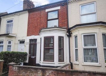 Thumbnail 3 bed terraced house for sale in Rosebery Road, Norwich