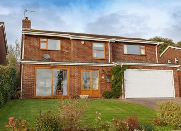Thumbnail 4 bed detached house for sale in Fairfield Road, Crediton