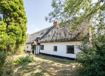 Thumbnail 4 bed cottage for sale in Main Street, Shudy Camps, Cambridge