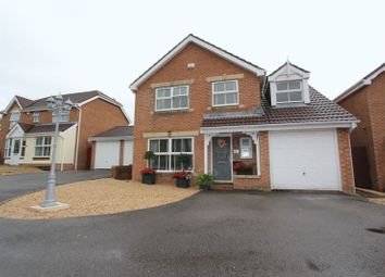 Thumbnail 4 bed detached house for sale in Lili Mai, Barry