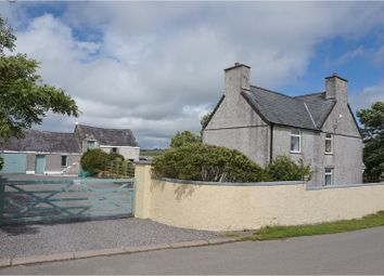 Thumbnail 4 bed detached house for sale in Llanddeusant, Holyhead