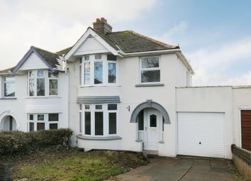 Thumbnail 3 bed semi-detached house for sale in Danvers Road, Torquay