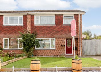 Thumbnail 3 bed semi-detached house for sale in Dean Croft, Herne Bay