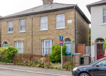 Thumbnail 2 bed semi-detached house for sale in Trinity Road, London