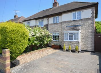 Thumbnail 3 bedroom semi-detached house for sale in Welland Road, Dogsthorpe, Peterborough