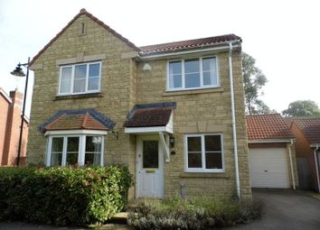 Thumbnail 4 bed detached house to rent in Newbury Avenue, Calne