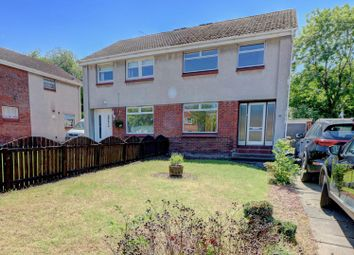 Thumbnail 3 bed semi-detached house for sale in Brogan Crescent, Motherwell
