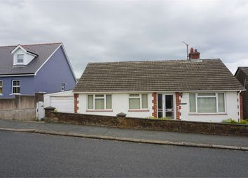 Thumbnail 3 bed detached bungalow for sale in Crud-Yr-Awel, 2 Bryn Elfed, Fishguard, Pembrokeshire