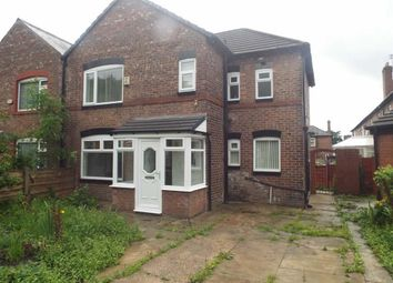 Thumbnail 3 bedroom semi-detached house for sale in Shirley Avenue, Salford