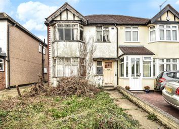Thumbnail 3 bed semi-detached house for sale in Collins Drive, Ruislip, Middlesex