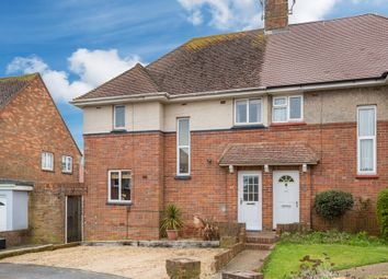 Thumbnail 3 bed semi-detached house for sale in Bramber Avenue, Hove