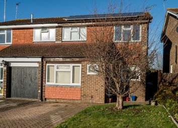 Thumbnail 3 bedroom semi-detached house for sale in Purssell Close, Maidenhead