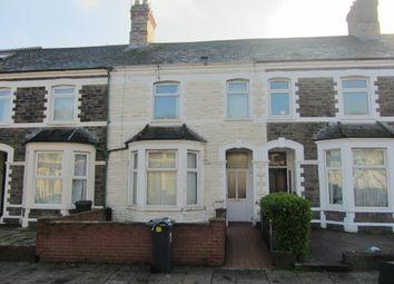 Thumbnail 3 bedroom terraced house for sale in Llandough Street, Cathays, Cardiff