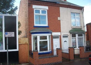 Thumbnail 3 bedroom semi-detached house for sale in Victoria Road East, Northfields, Leicester