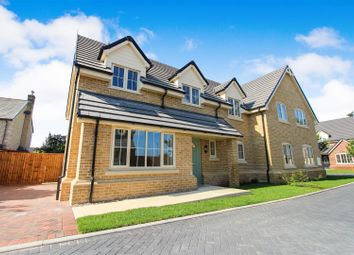 Thumbnail 4 bed semi-detached house for sale in Hardwick Court, Holme, Peterborough