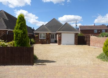 Thumbnail 4 bed detached bungalow for sale in Church Road, Emneth, Wisbech