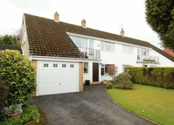 Thumbnail 3 bed semi-detached house for sale in Rugby Close, Newcastle-Under-Lyme