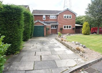 Thumbnail 4 bed detached house for sale in Burnet Close, Padgate, Warrington