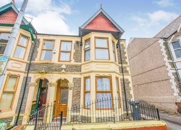 Thumbnail 4 bed end terrace house for sale in Pen Y Wain Road, Roath, Cardiff