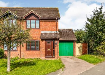 Thumbnail 2 bed semi-detached house for sale in Justice Close, Thatcham