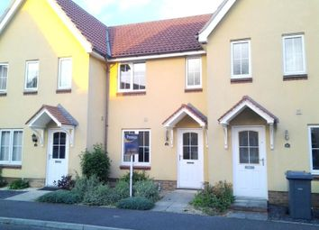 Thumbnail 2 bed terraced house to rent in Spindler Close, Kesgrave, Ipswich
