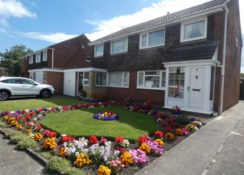 Thumbnail 3 bed semi-detached house for sale in Guillemot Close, Blyth