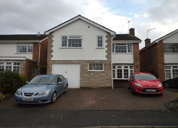 Thumbnail 4 bedroom detached house to rent in Birchway Close, Leamington Spa