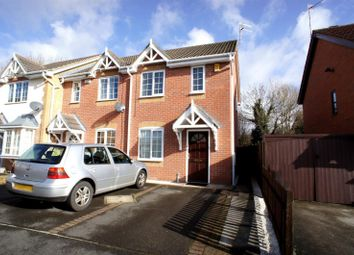 Thumbnail 2 bed semi-detached house to rent in Cranhill Close, Littleover, Derby