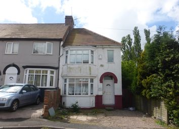Thumbnail 3 bedroom end terrace house for sale in Corser Street, Dudley