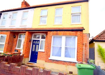Thumbnail 3 bed end terrace house for sale in Longfellow Road, Worcester Park