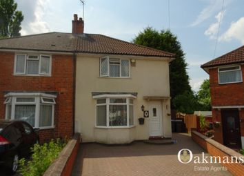 Thumbnail 3 bed semi-detached house to rent in Lockton Road, Birmingham, West Midlands.