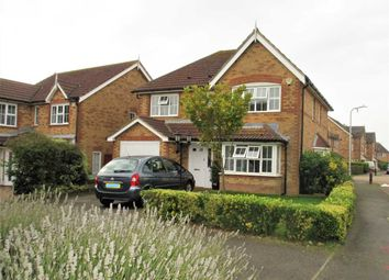 Thumbnail 4 bed detached house for sale in Pannell Drive, Hawkinge, Folkestone