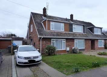 Thumbnail 3 bed semi-detached house for sale in Red House Lane, Leiston, Suffolk