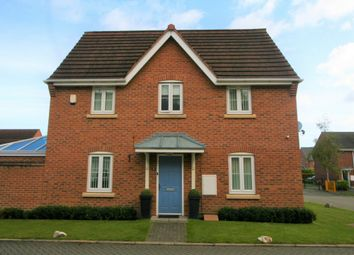 Thumbnail 3 bed detached house for sale in Rockford Gardens, Warrington