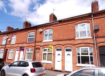 Thumbnail 2 bed terraced house for sale in Kirkdale Road, Wigston, Leicester, Leicestershire