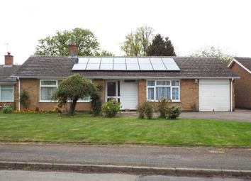 Thumbnail 3 bed bungalow for sale in Landscape Drive, Evington, Leicester, Leicestershire