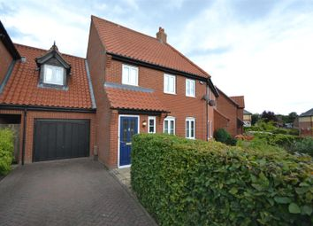 Thumbnail 4 bed terraced house for sale in Easton, Norwich
