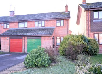 Thumbnail 3 bed end terrace house for sale in Trelawney Drive, Tilehurst, Reading
