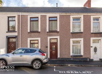 Thumbnail 3 bedroom terraced house for sale in Wern Terrace, Port Tennant, Swansea, West Glamorgan