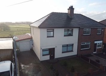 Thumbnail 4 bed semi-detached house for sale in Crescent Road, Kearsley, Bolton
