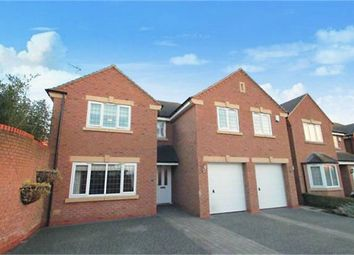 Thumbnail 5 bedroom detached house for sale in Cawley Field, Anstey, Leicester