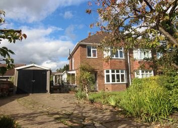 Thumbnail 3 bed semi-detached house for sale in Old Woosehill Lane, Wokingham