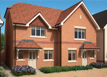 Thumbnail 3 bed semi-detached house for sale in Stockwood Way, Farnham, Surrey