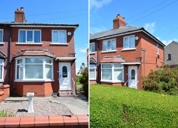 Thumbnail 3 bed semi-detached house for sale in Annesley Avenue, Layton, Blackpool