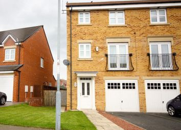 Thumbnail 4 bed town house to rent in Youens Crescent, Newton Aycliffe