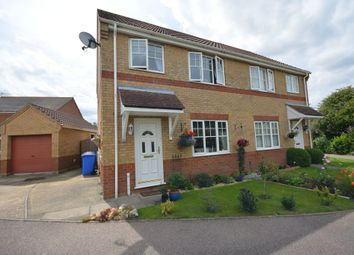 Thumbnail 3 bedroom semi-detached house for sale in Rio Close, Carlton Colville, Lowestoft