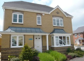 Thumbnail 4 bed detached house to rent in Wiltshire Crescent, Worting, Basingstoke